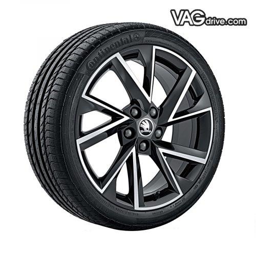 Литой диск Vega 7,5x18 - 5E0 071 498N JX2.jpg