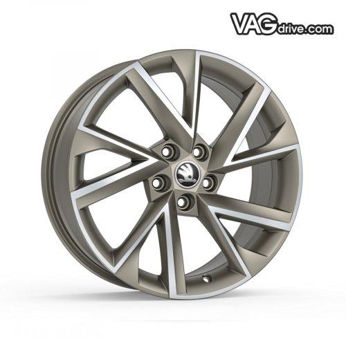 Литой диск Vega 7,5x18 - 5E0 071 498M HZ9.jpg